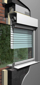 Built-in Security Shutters