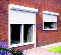 Built-on Security Shutters